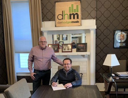 Jimmy Thrasher signs with Dan Hodges Music, LLC.